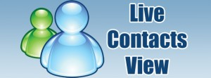 LiveContactsView - Gestione contatti msn
